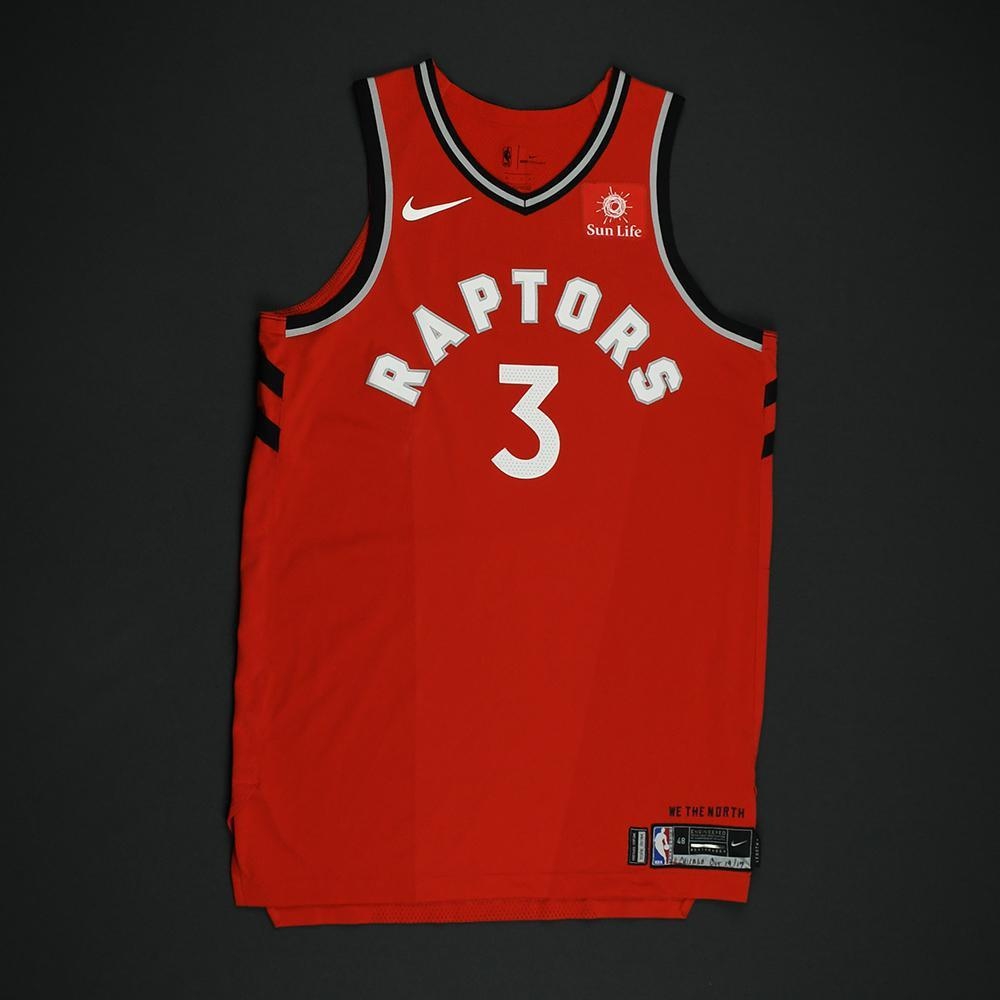 OG Anunoby - Toronto Raptors - Game-Worn Rookie Debut Jersey (Opening Night) - 2017-18 Season