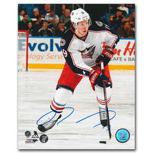 Ryan Johansen Autographed Columbus Blue Jackets 8X10 Photo (Nashville Predators)