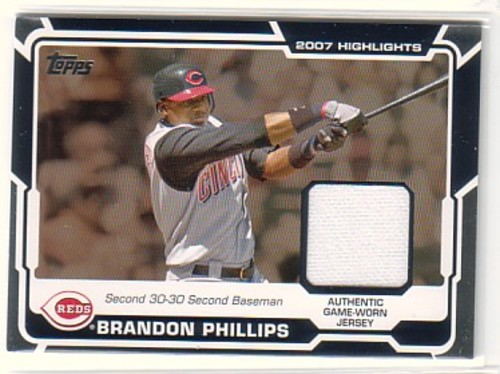 Photo of 2008 Topps Highlights Relics #BP Brandon Phillips B2