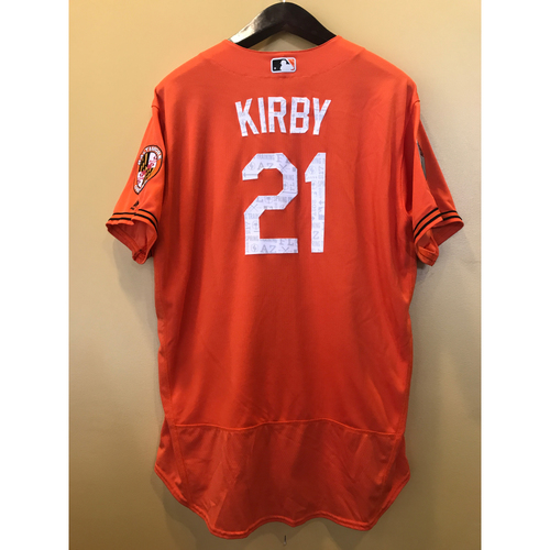 Photo of Wayne Kirby - 2017 Spring Training Jersey: Game-Used