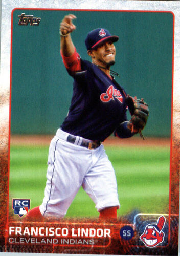 Photo of 2015 Topps Update #US82 Francisco Lindor  Rookie Card