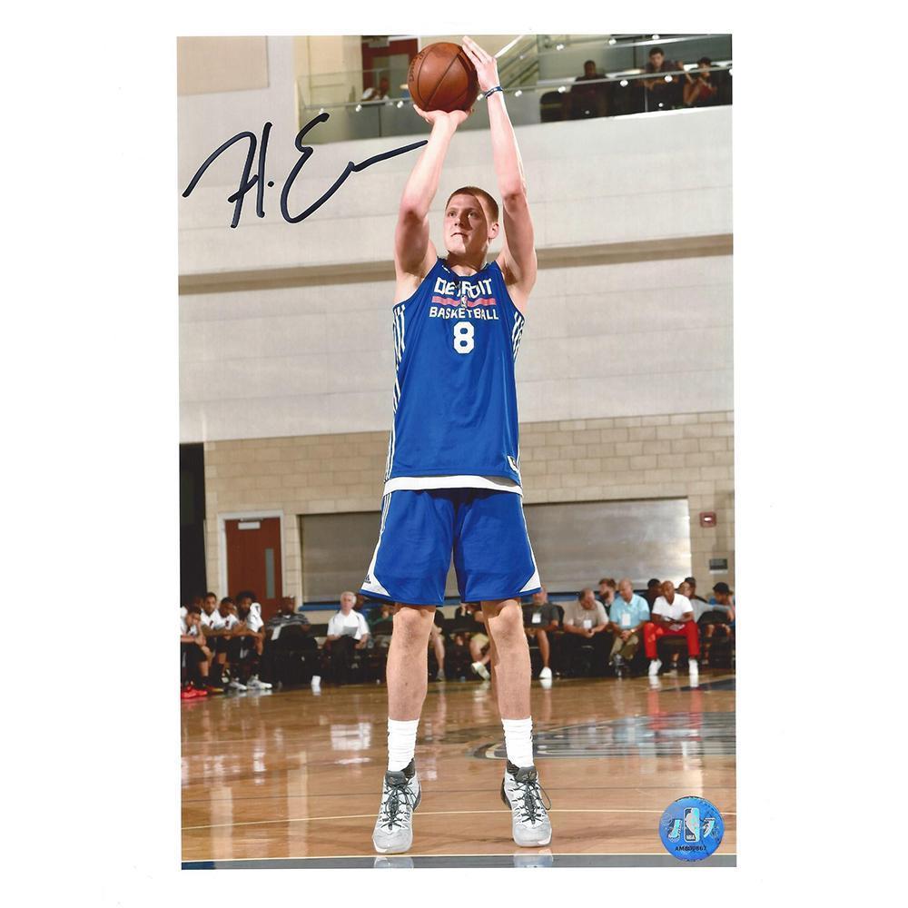 Henry Ellenson - Detroit Pistons - 2016 NBA Draft - Autographed Photo