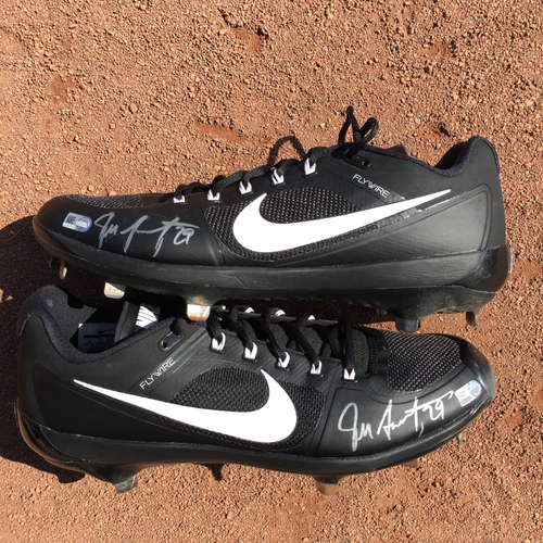 Photo of San Francisco Giants - Autographed Cleats - Jeff Samardzija