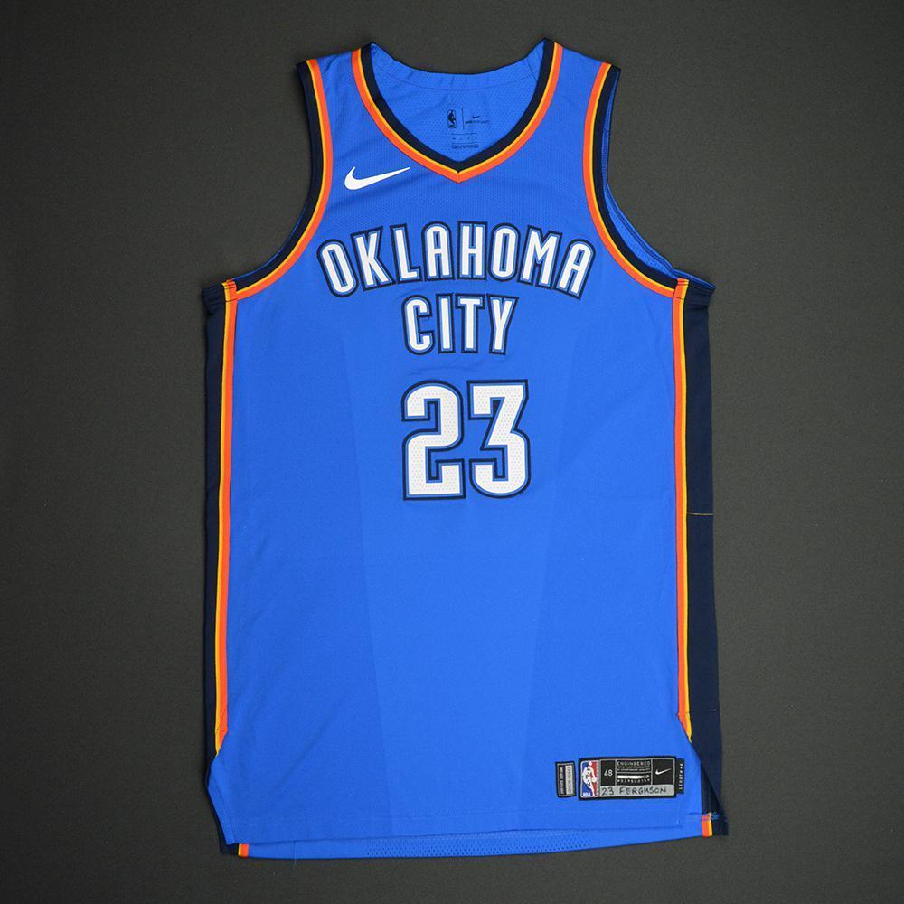 Terrance Ferguson - Oklahoma City Thunder - NBA Mexico City Games 2017 Game-Worn Jersey