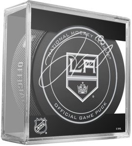 Drew Doughty Signed Los Angeles Kings Game Model Puck ( Signed In Gold)