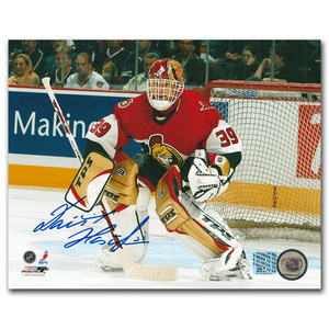 Dominik Hasek Autographed Ottawa Senators 8X10 Photo