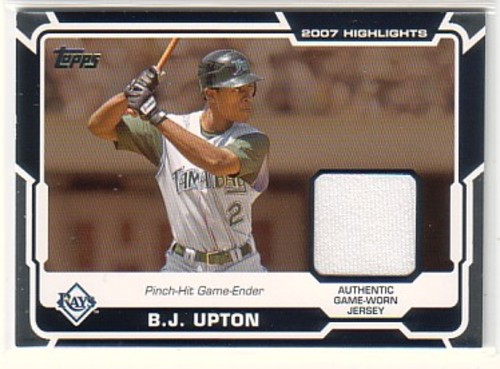 Photo of 2008 Topps Highlights Relics #BU B.J. Upton C2