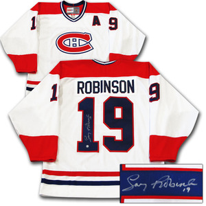 Larry Robinson Autographed Montreal Canadiens Jersey