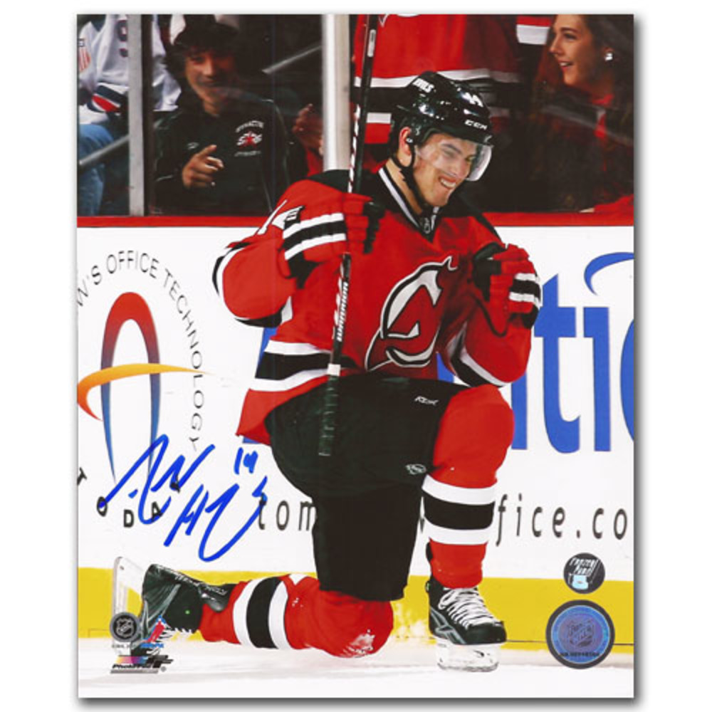 Adam Henrique Autographed New Jersey Devils 8X10 Photo
