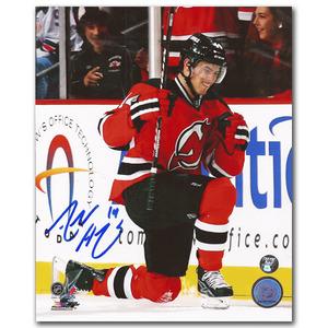 Adam Henrique Autographed New Jersey Devils 8X10 Photo