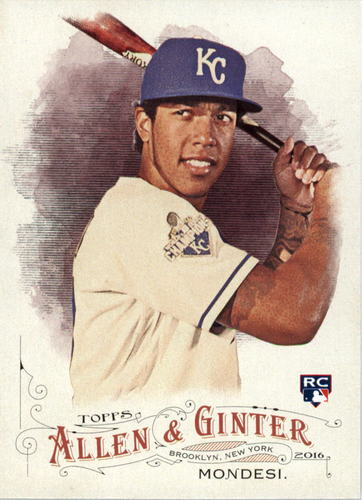 Photo of 2016 Topps Allen and Ginter #327 Raul Mondesi RC