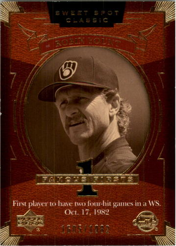 Photo of 2004 Sweet Spot Classic #142 Robin Yount FF/1982