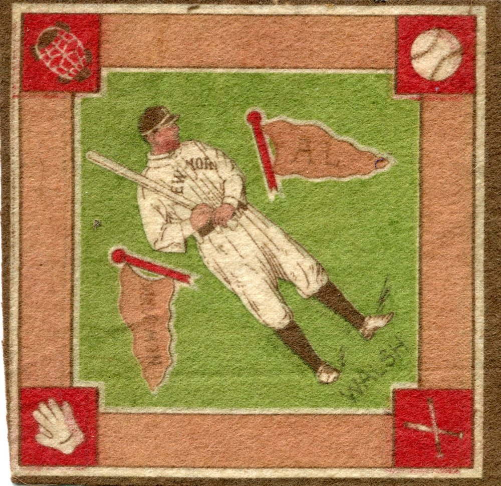 1914 B18 Blankets #84B Jimmy Walsh/Red paths