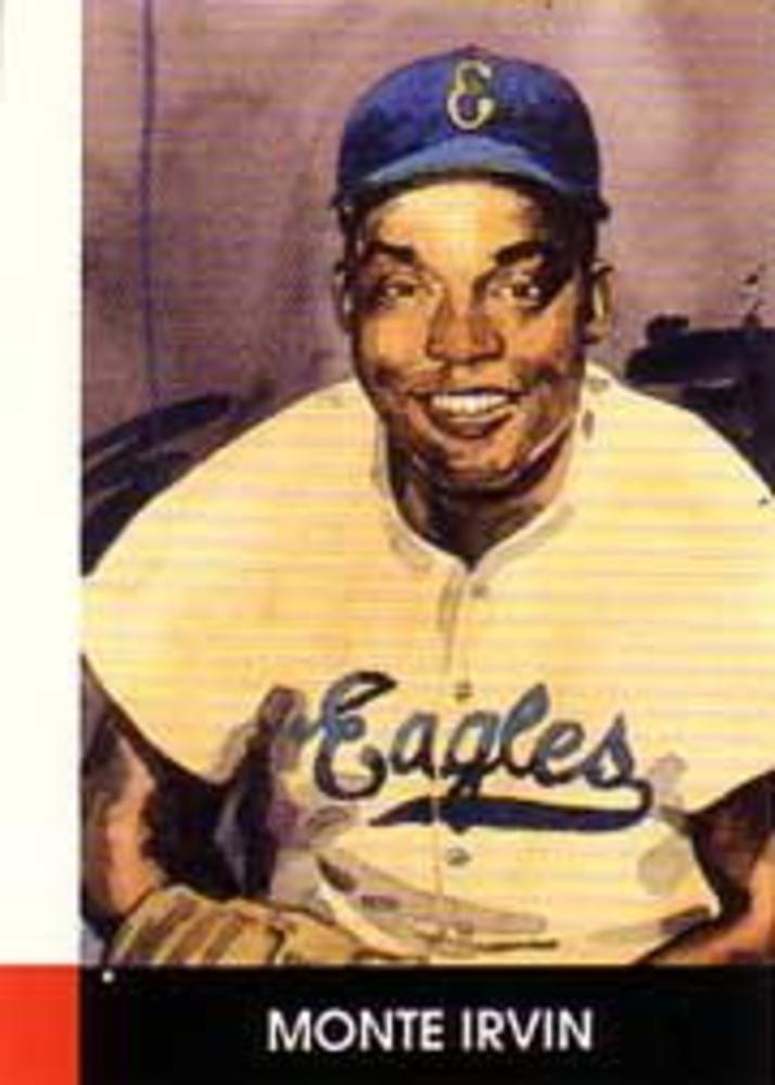 1990 Negro League Stars #9 Monte Irvin