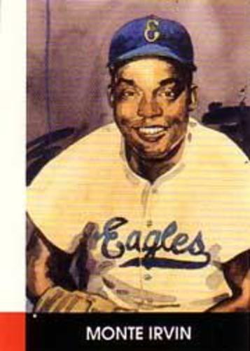 Photo of 1990 Negro League Stars #9 Monte Irvin