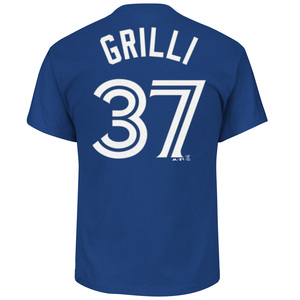Jason Grilli Player T-Shirt by Majestic