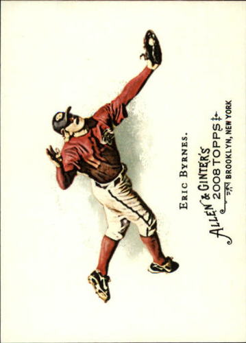 Photo of 2008 Topps Allen and Ginter #35 Eric Byrnes