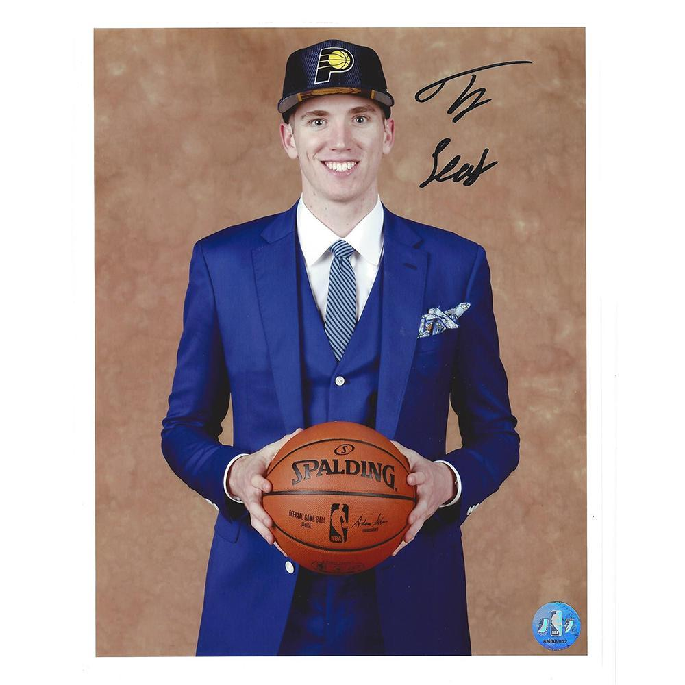 TJ Leaf - Indiana Pacers - 2017 NBA Draft - Autographed Photo