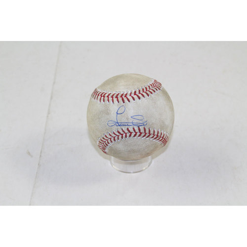 Photo of Luis Severino Signed 2015 Game-Used Baseball (MLB Auth)
