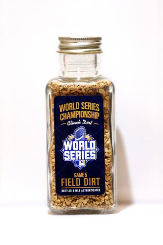 Photo of 2015 World Series Game-Used Dirt Jar - Citi Game 5