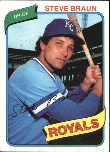 Photo of 1980 Topps #9 Steve Braun