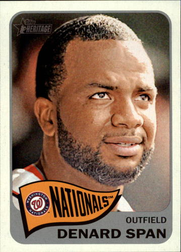 Photo of 2014 Topps Heritage #51 Denard Span