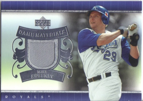 Photo of 2007 Upper Deck UD Game Materials #MS Mike Sweeney Jsy S1