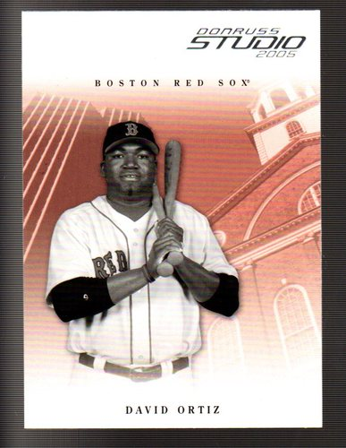 Photo of 2005 Studio #45 David Ortiz