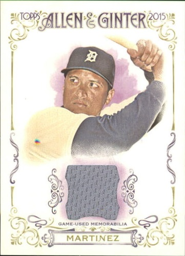 Photo of 2015 Topps Allen and Ginter Relics #FSRAVM Victor Martinez A