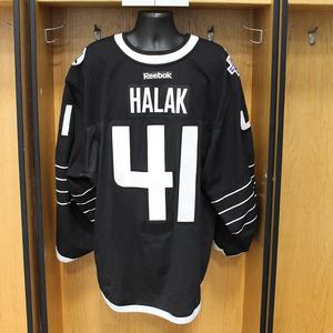 Jaroslav Halak - Game Worn Third Jersey - 2015-16 Season - New York Islanders