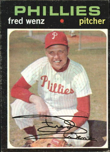 Photo of 1971 Topps #92 Fred Wenz