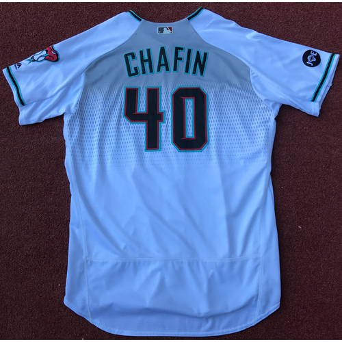 Photo of Andrew Chafin 2016 Team-Issued Jersey