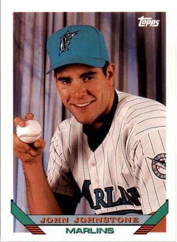 Photo of 1993 Topps #454 John Johnstone RC