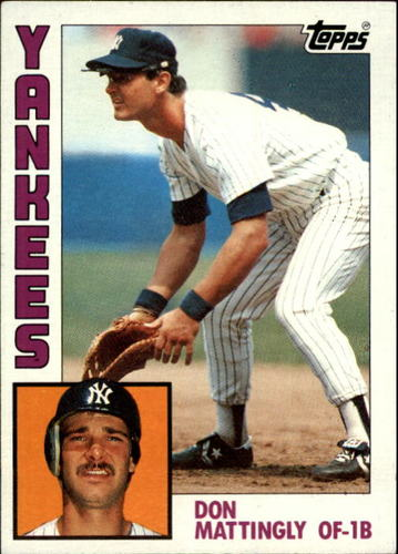Photo of 1984 Topps #8 Don Mattingly Rookie Card