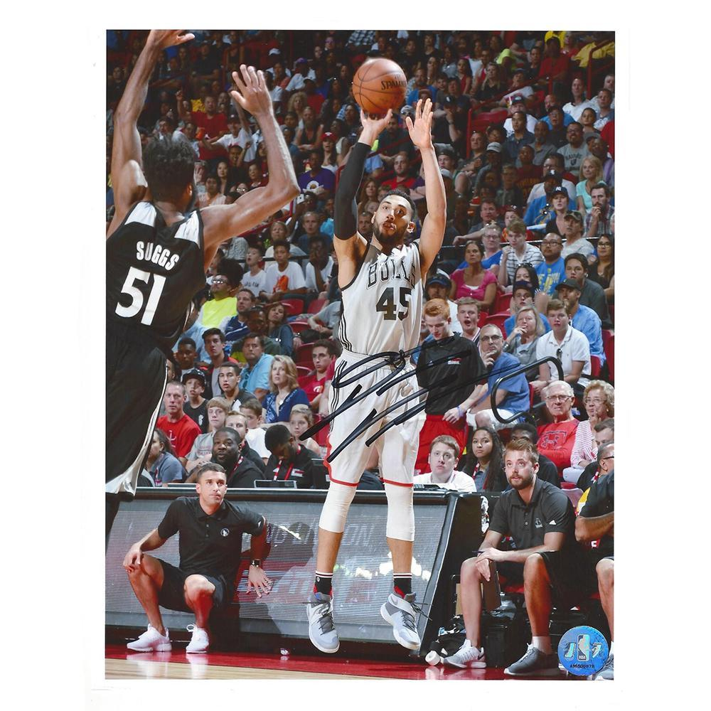Denzel Valentine - Chicago Bulls - 2016 NBA Draft - Autographed Photo