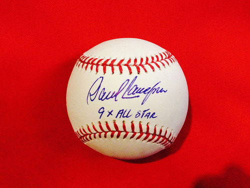 "Photo of Reds Hall of Fame: David Concepcion ""9X All-Star"" Autographed Baseball"