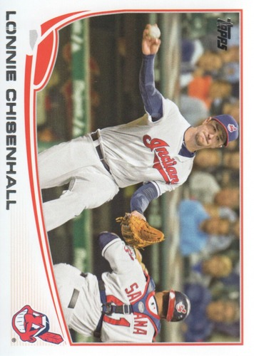 Photo of 2013 Topps #341 Lonnie Chisenhall