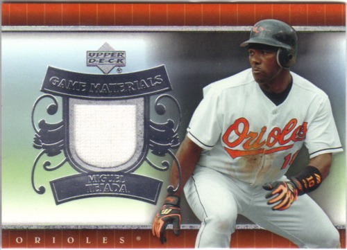 Photo of 2007 Upper Deck UD Game Materials #MT Miguel Tejada Jsy S1