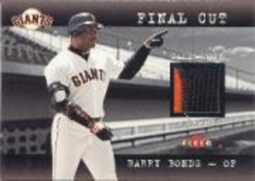 Photo of 2001 Fleer Genuine Final Cut #2 Barry Bonds SP/330