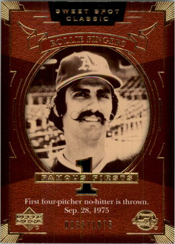 Photo of 2004 Sweet Spot Classic #144 Rollie Fingers FF/1975