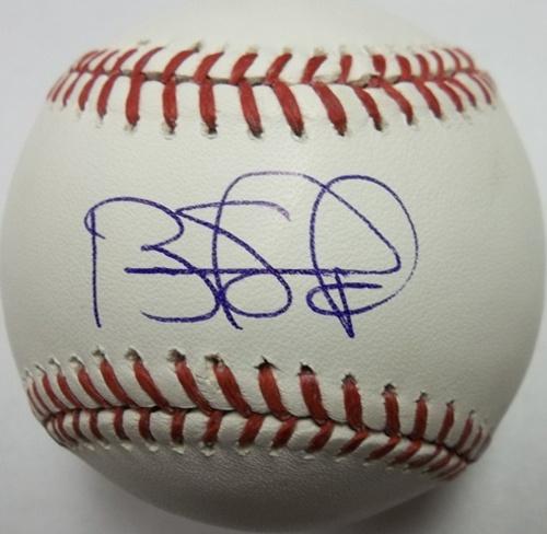 Photo of Brandon Phillips Autographed Baseball