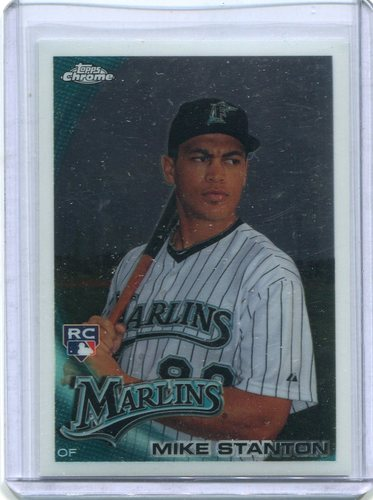 Photo of 2010 Topps Chrome #190 Mike Stanton RC