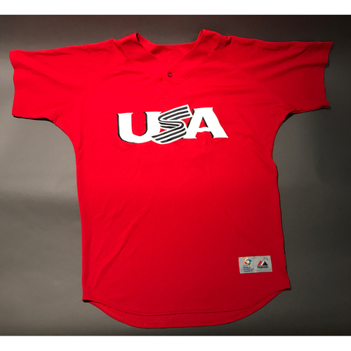 Photo of 2013 World Baseball Classic Jersey - USA Jersey, Eric Hosmer #35