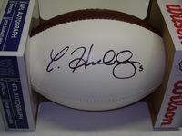 NFL - JETS CHRISTIAN HACKENBERG SIGNED PANEL BALL