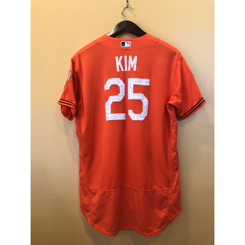 Photo of Hyun Soo Kim - 2017 Spring Training Jersey: Game-Used