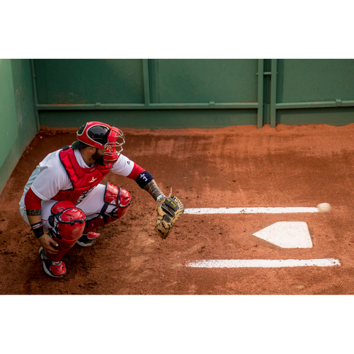 Photo of Red Sox Foundation Picnic In the Park Auction: Sandy Leon Behind the Plate