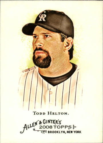Photo of 2008 Topps Allen and Ginter #131 Todd Helton