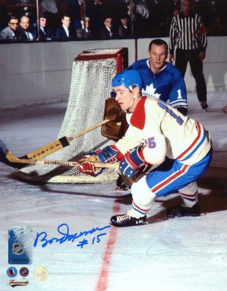 Bobby Rousseau - Signed 8x10 Unframed Canadiens