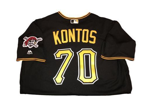 George Kontos Team-Issued Black Alternate Jersey