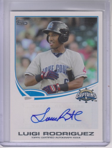 Photo of 2013 Topps Pro Debut Autographs #LR Luigi Rodriguez